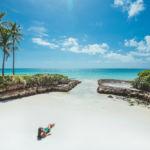 Фотосессия на пляже с панорамным видом на океан