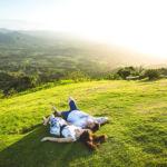 Фотосессия на горе Редонда с видом на долину
