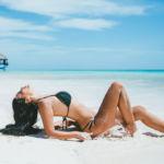 Фотосъемка в купальнике на пляже в Доминикане