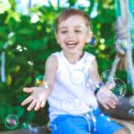 Разноцветная мыльная радость. Идеи для фотосессии с детьми.