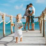 Фотосессия с малышом на пирсе