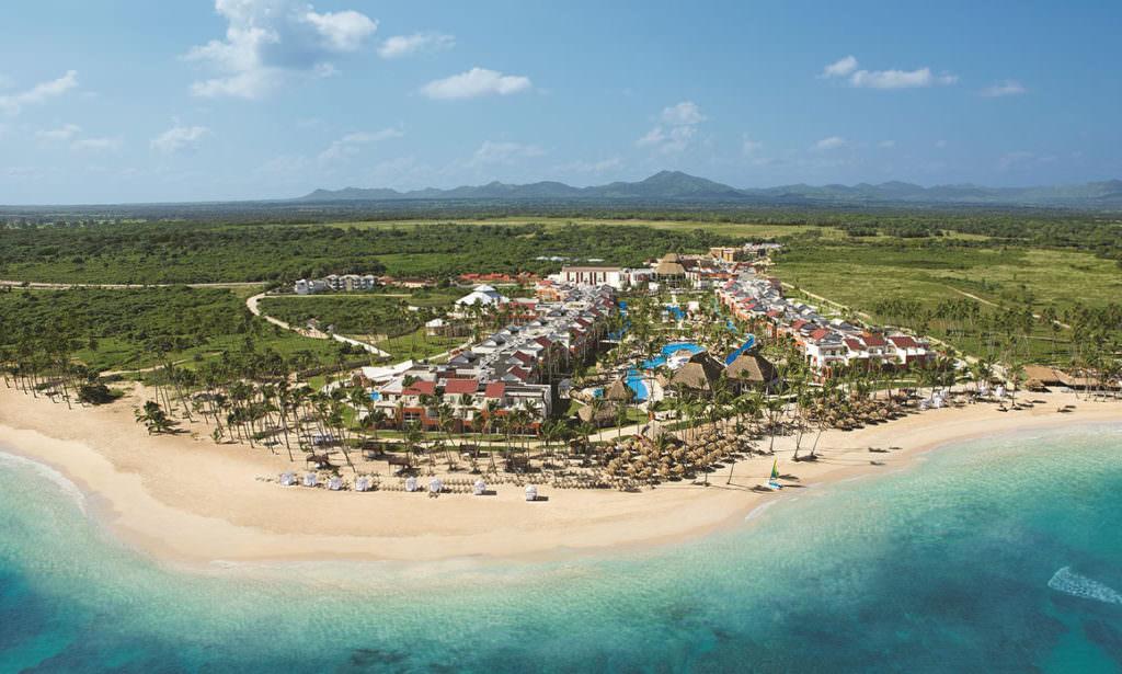 Вид отелей Доминиканы