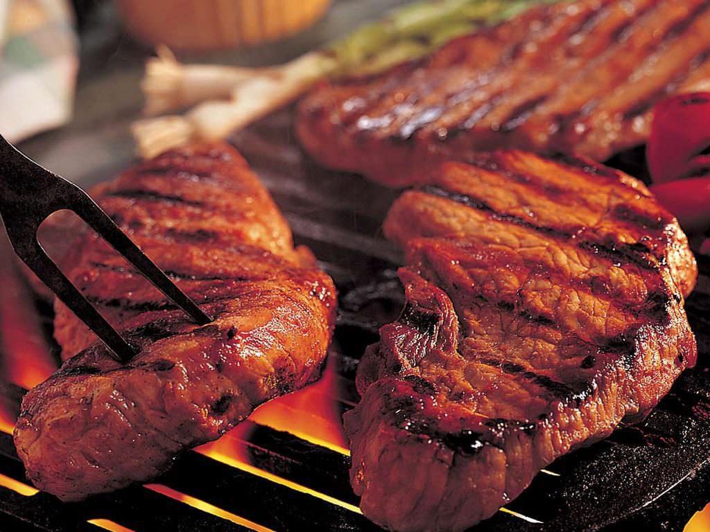 Мясо чураско в Доминикане