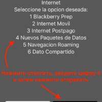 Выбираем «Новые пакеты интернета»