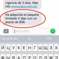 При включении 3g на телефоне придёт уведомление в SMS о том что активирован пакет