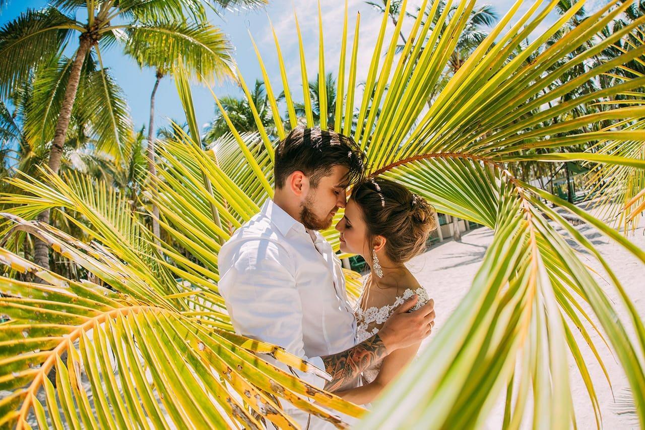 Лавстори фотосессия в Доминикане