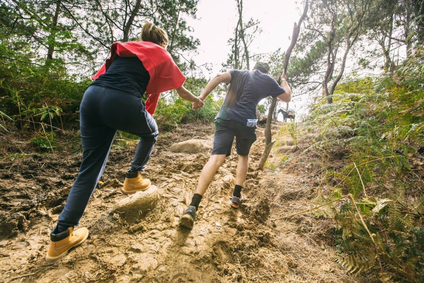 Подъем по грязи на гору Пико Дуарте